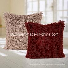 European Coral Fleece Sofa Cushions Case