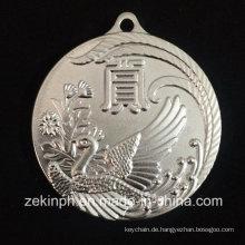 Custom Design Metall Gravieren Phoenix Medal