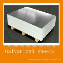 meilleur toit tôle galvanisée de tôle d'acier