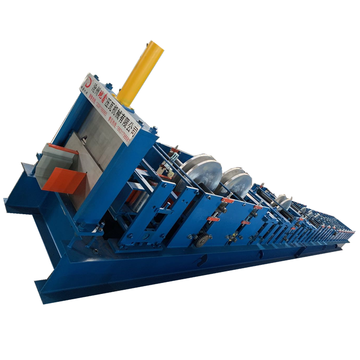 Rolling Air Aluminium Air Gutter Roll Forming Machine
