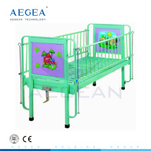 AG-CB002 cold-rolled steel plate healthcare manual children bed design