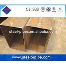 40 * 40 seção retangular tubos de aço materiais de construção