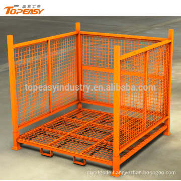 Heavy duty stackable pallet rack for goods storage