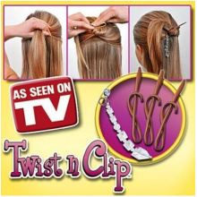 Fashion Twist N Clip Magic Epingle à cheveux (TY8975)