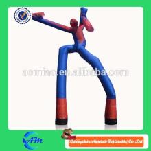 Dançarino inflável do ar do tubo dos homens-aranha para a venda