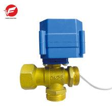 Válvula de ventilación de aire automática apagada 3 aguas motorizadas