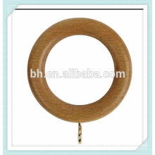 35mm wooden curtain rings with eyelet