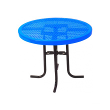 Decorative Perforated Sheet Carbon Steel Tea Table