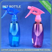 200 мл синяя пластиковая бутылка с водой для бутылок с распылителем