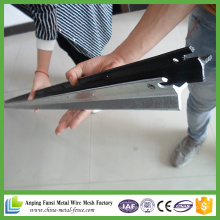 Hot Dipped Galvanized Steel Star Picket