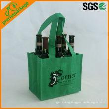 recycled liquor bottle wine bag