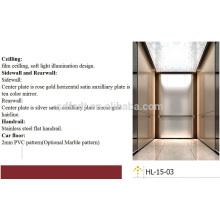 2015 nouveaux ascenseurs / ascenseurs résidentiels à passagers à passagers de la technologie japonaise (FJ8000)