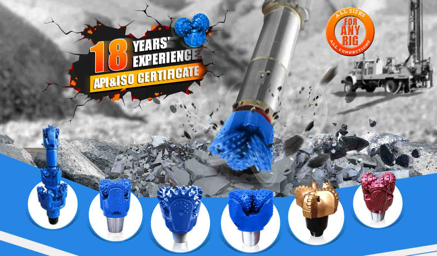 petroleum drilling bits