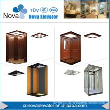Muster Stahl Aufzug Kabine mit PVC Boden