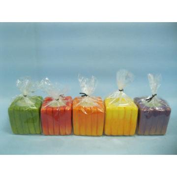Pumpkin Candlestick Shape Ceramic Crafts (LOE2366E-5z)