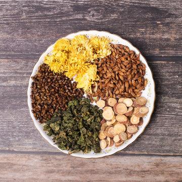 Té popular de hoja de morera y crisantemo de Cassia