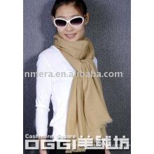 ladies fashion 100% cashmere scarf/shawl