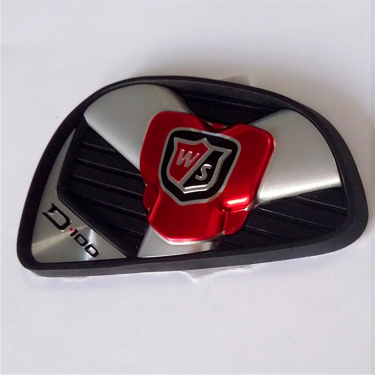 Golf Pole Logo Namplate