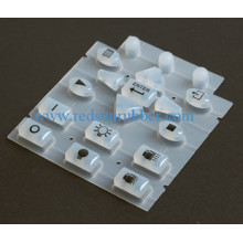 Electrical Conductive Carbon Pill Silicone Button