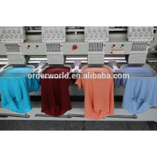 4 Head Flat Cap Finished Garments Embroidery Machine