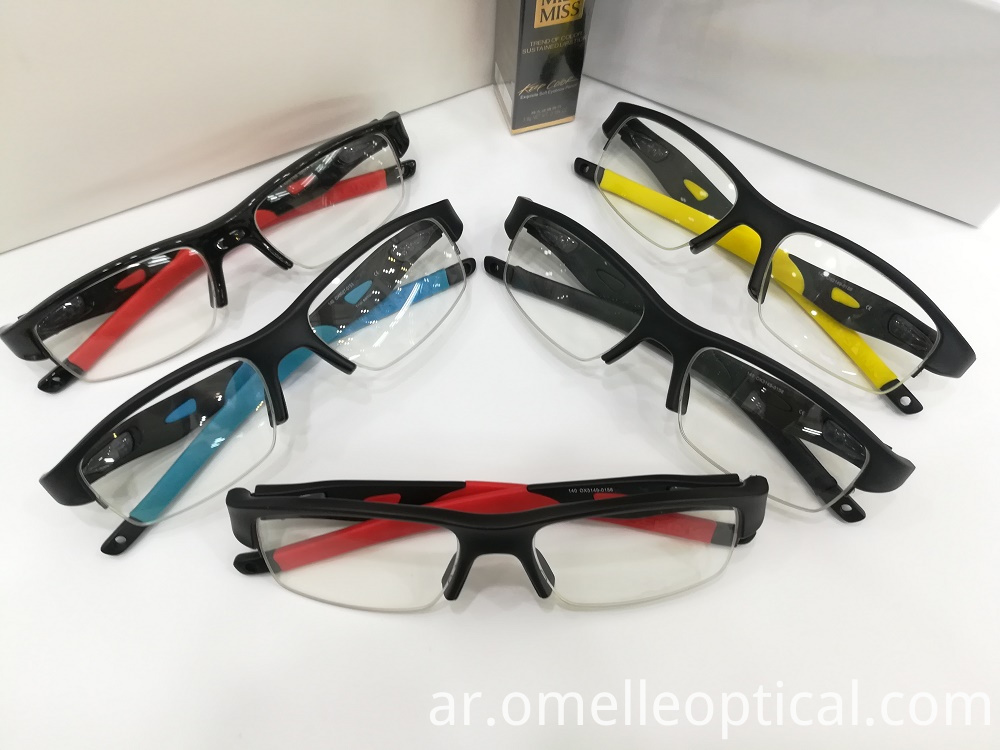 Semi Rimless Optical Frames