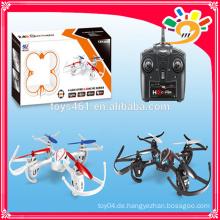4CH 2.4GHz invertierter Flug Headless Modus RC Drone Quad Copter mit Kamera Top Selling Produkte