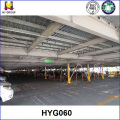 Steel structure vertical car parking system
