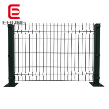 factory Outdoor Pvc Coated 3d  welded wire mesh fence panels