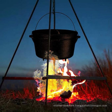 Cast Iron Dutch Oven Tripod Stand