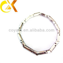 Шарм из хрусталя браслет из нержавеющей стали 316L браслет из нержавеющей стали