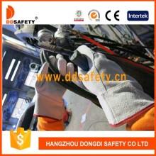 Con la división del color natural reforzada en el guante de la palma y del pulgar Dlw600