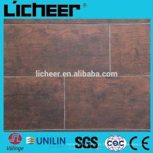 12mm laminado piso / v sulco AC3 piso de madeira / alta qualidade HDF piso laminado
