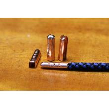 Hoodie strings metal aglet / metal shoelace tip for webbing , drawstrings, clothing