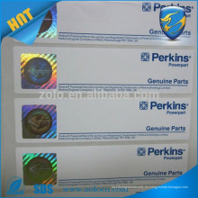 Boleto de papel de holograma anti falsificación