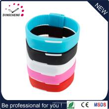 Montre à bracelet en silicone numérique à écran tactile à la mode (DC-1009)