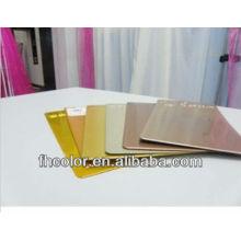 Pulverlackierung für Metallwerkstoffe