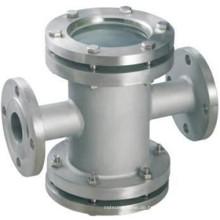 China-Fabrik-Flansch-Endguss-Schauglas in DIN 3202