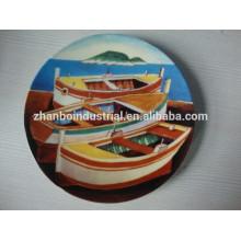Cena de porcelana fina decoración de la boda platos de la boda del cargador