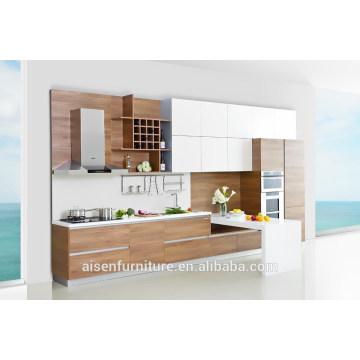 Modern Italian Design Melamine kitchen cabinet