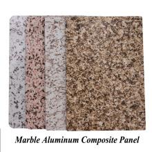 Panel compuesto de aluminio de mármol al aire libre
