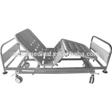 double cranks hospital bed ABS bed board
