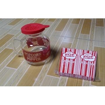 Hitzebeständige Mikrowelle Popcorn Popper / Mais Popper / Popcorn Maschine / Popcorn Maker
