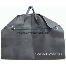 Fold Non-Woven Garment Housse de sac avec fermeture à glissière