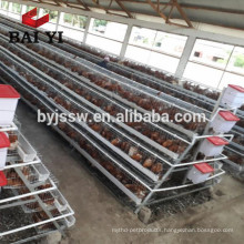 3 Tiers & 4 Tiers Layer Chicken Cage For Sale