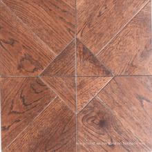 Piso de parquet de madera de roble Versaille / piso de madera dura de mosaico