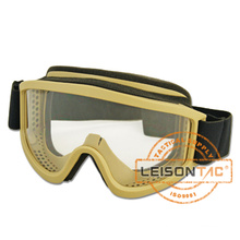 anti-UV, anti-fog engrenagem tático militar de esqui óculos de proteção com sistema de suspensão