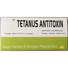 Tetanus Antitoxin Injection 5000IU for Human