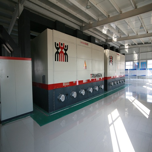 Large industrial electric dryer system