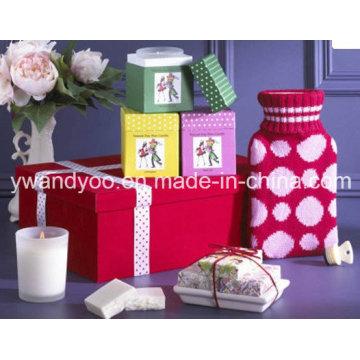 Luxus Scented Soja Wachs Kerze im Glas Jar mit Geschenkbox