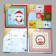 Открытка ручной работы с декоративной поздравительной открыткой / оптовая рождественская открытка с орнаментом